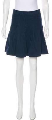 Diane von Furstenberg Denim Mini Skirt