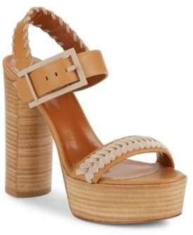 Aquatalia Isabella High Heel Platform Sandals