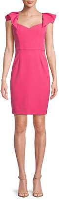 Alexia Admor Women's Classic Flutter-Sleeve Sheath Dress
