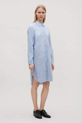 Cos STRIPED SHIRT DRESS