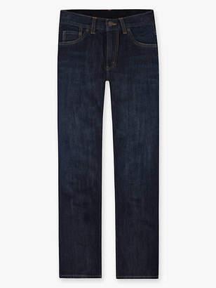 Levi's Boys 8-20 505 Regular Fit Jeans (Husky) 8