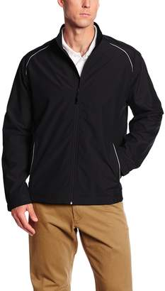 Cutter & Buck Men's Big-Tall Cb Weathertec Beacon Full Zip Jacket