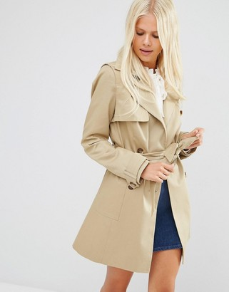 ASOS Classic Trench Coat $83 thestylecure.com