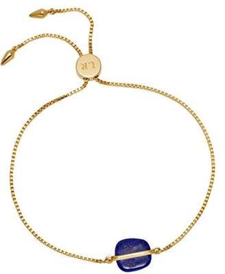Lola Rose Bassa Chain Slider Lapis Lazuli Bracelet