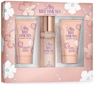 Elizabeth Taylor Love & White Diamonds Women's Perfume 3-pc. Gift Set ($58 Value)