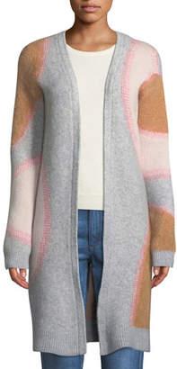 Tabula Rasa Drawa Long Open-Front Wool/Mohair Cardigan