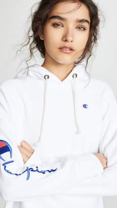 Champion Premium Reverse Weave Maxi Hooded Sweatshirt