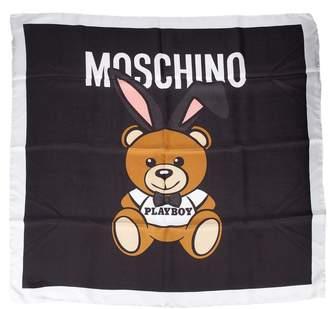 Moschino Playboy Bear Scarf