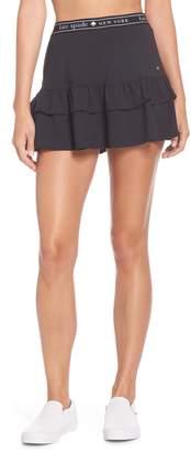 Kate Spade Logo Ruffle Skirt