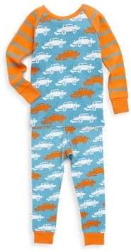Hatley Little Boy's & Boy's Two-Piece Derby Cars Cotton Pajama Set
