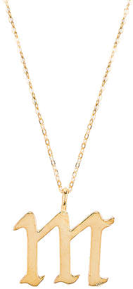 The M Jewelers NY The Old English M Pendant