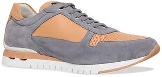 Stefano Ricci Suede Mid Runner Trainers