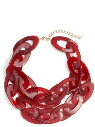 Stella + Ruby Chunky Acrylic Necklace