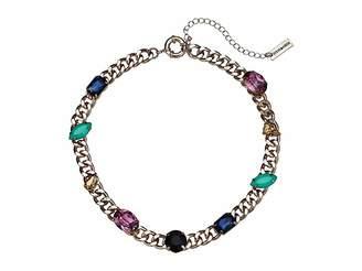 Steve Madden Jewel Design Collar Necklace