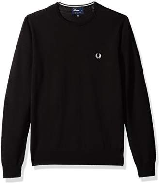 Fred Perry Men's Classic Crew-Neck Sweater