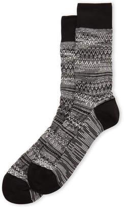 Missoni Zigzag & Stripe Crew Socks