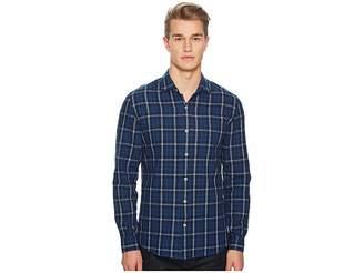 BALDWIN William Plaid Shirt Men's Long Sleeve Button Up