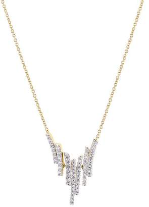 Nadri Ripple Cascade Necklace, 15""