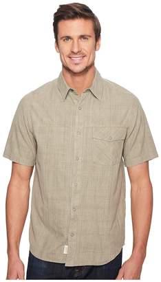 Woolrich Zephyr Ridge Solid Shirt Men's Short Sleeve Button Up