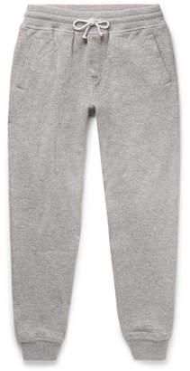Brunello Cucinelli Slim-Fit Tapered Cashmere-Blend Sweatpants