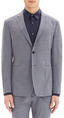 Theory Men's Clinton Houndstooth Seer Two-Button Blazer