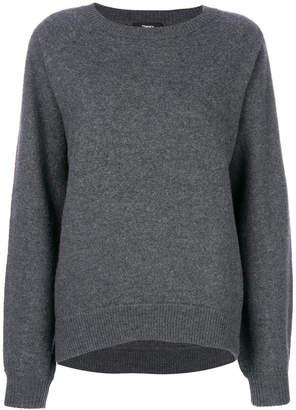 Theory felted knit sweatshirt