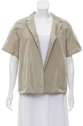 Dusan Dušan Silk Short Sleeve Jacket