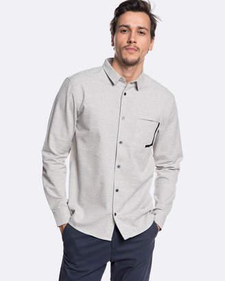 Quiksilver Mens QTRVL Long Sleeve Shirt