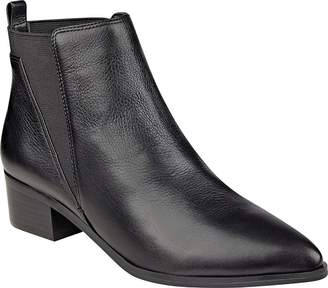 Marc Fisher Womens Ignite Leather Pointed Toe Ankle Fashion