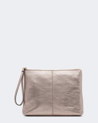 Gracie Leather Clutch