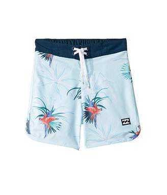 Billabong Kids 73 Line Up Pro Boardshorts (Toddler/Little Kids)