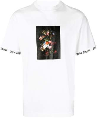 Palm Angels floral print short-sleeve T-shirt