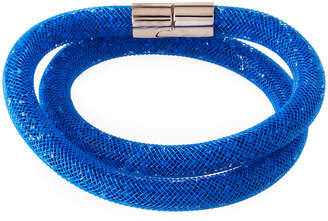 Swarovski Stardust Convertible Crystal Mesh Bracelet/Choker, Capri Blue, Small $60 thestylecure.com
