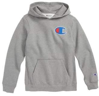 Champion Heritage Logo Pullover Hoodie