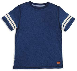 7 For All Mankind Boys' Tee with Striped Sleeves - Little Kid