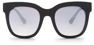 Quay Sagano 70mm Square Sunglasses