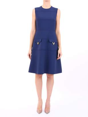 Valentino Blue Dress v Pockets