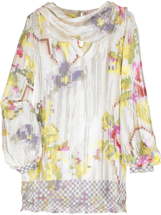 Matthew Williamson Tapestry scarf dress