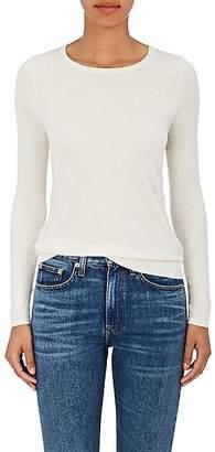 Barneys New York Women's Fine-Gauge Knit Silk-Cashmere Sweater - Ivory