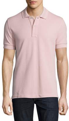 Tom Ford Pique Polo Shirt, Light Pink