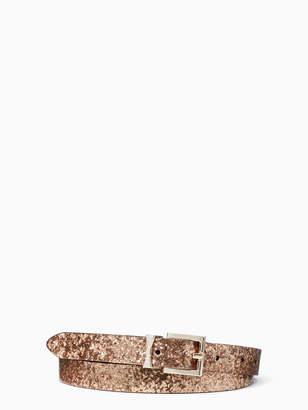 15824221e7b Kate Spade glitter leather reversible belt