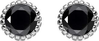 Thomas Sabo Glam & soul black stone sterling silver ear studs