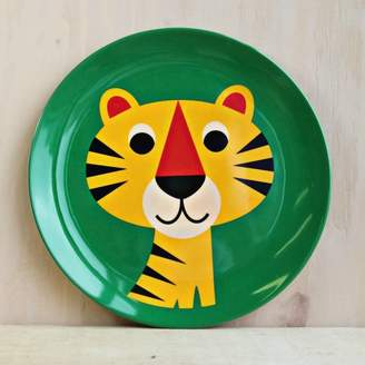 Posh Totty Designs Interiors Tiger Melamine Plate