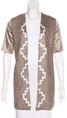 Maiyet Knit Short Sleeve Jacket