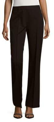Lafayette 148 New York Banded Wide-Leg Pants