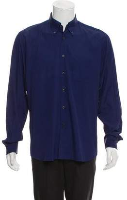 Prada Double-Layered Button-Up Shirt