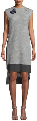 Nicole Miller New York Knit High-Low Dress