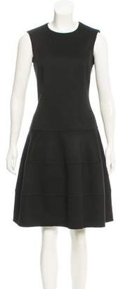 Michael Kors Wool & Angora-Blend A-Line Dress