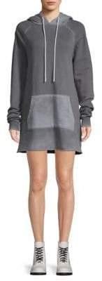 Cotton Citizen Milan Cut-Off Hoodie Dress