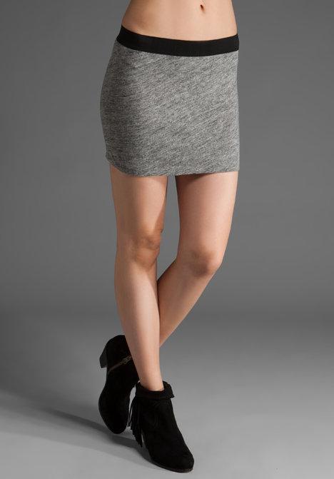 RVCA Vanilla King Jersey Miniskirt
